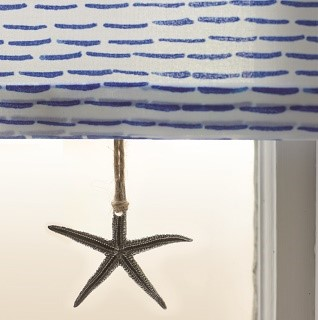 pewter starfish blind pull 1