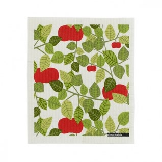 red orchard kitchen retro sponge cloth