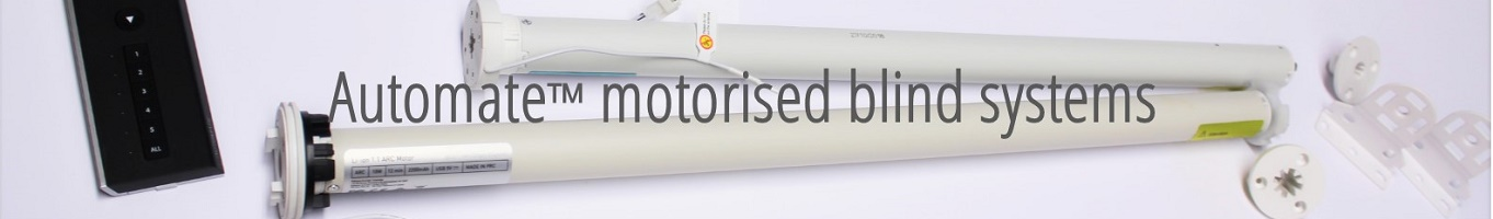 automate roller blind motorisation systems