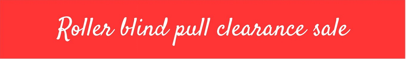 roller blind pull clearance sale