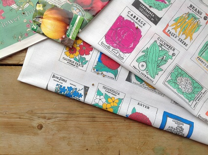 kitchen garden tea towel gift set