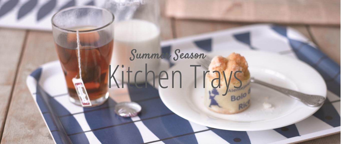 summer season kitchen trays