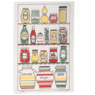 swedish pantry old-fashioned tea towel
