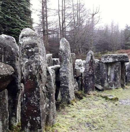 upright stones