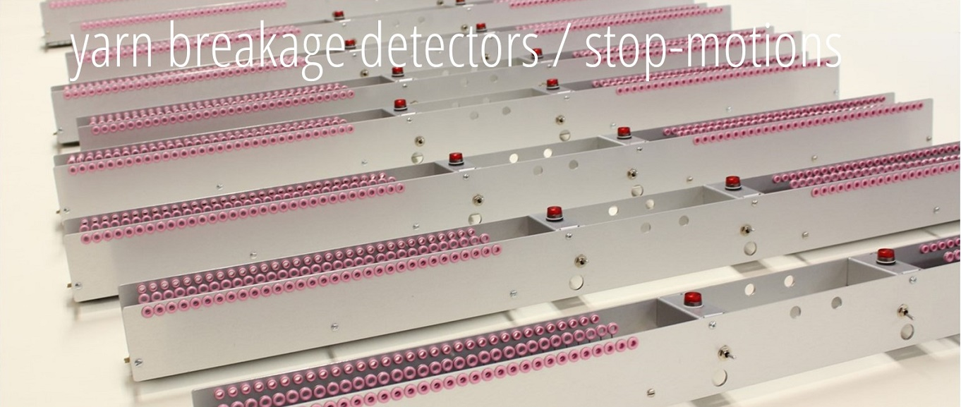 yarn breakage detectors or stop-motions