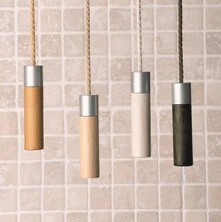 Wooden light pull Wooden