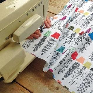 crazy pots cotton curtain fabric