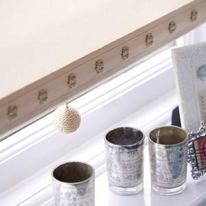 gorgeous taffeta coloured classy charleston window blind pull with shiney texture