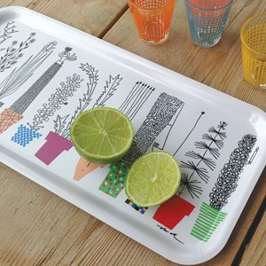 crazy pots drinks tray