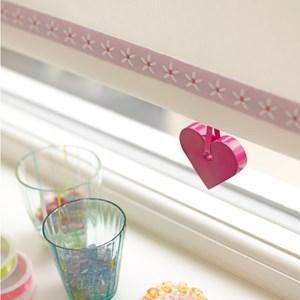 daisy chain trim - petal pink