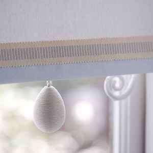 glitter striped trim - silver