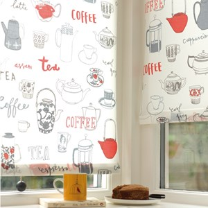 graphite grey hand painted lewes wood roller blind pull
