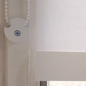 halo blind cord safety device - white