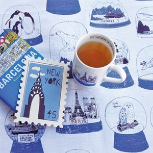 shake it mug & tea towel gift set