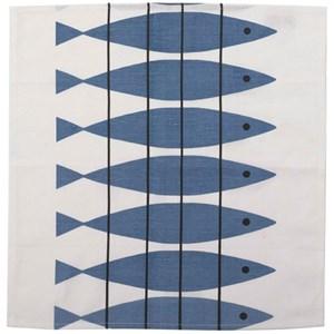 herring fabric napkin