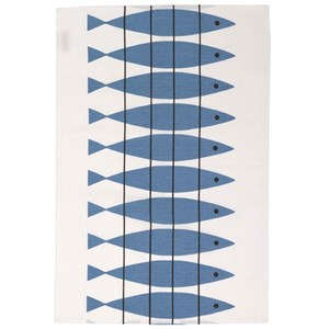 herring tea towel