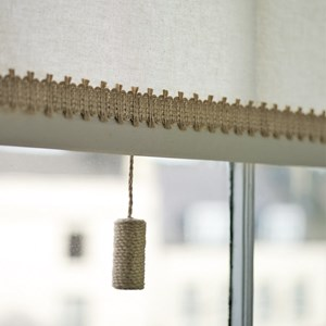 jute trim woven interior decorative trimming in natural jute or flax