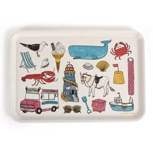 seaside fun large tray