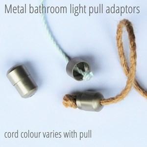 Merlot suede triple light pull