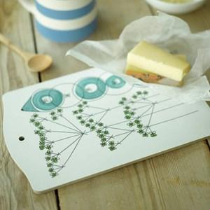 picknick chopping board - dill