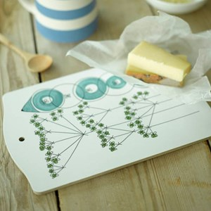 picknick chopping board - dill
