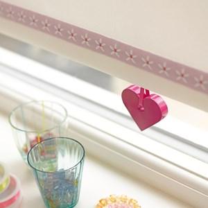 red heart kids spring roller blind pull for children and child safe