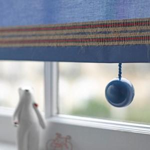 bobbi blind pull - signal blue