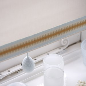 stria striped trim - autumn frost