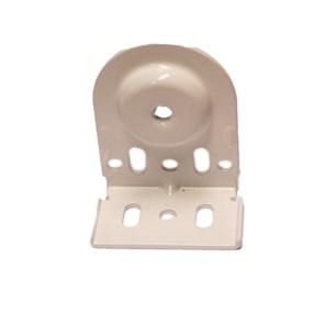 universal pin end domicet bracket white