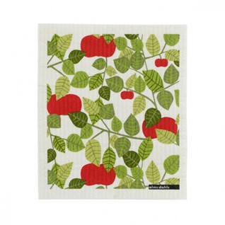 red orchard sponge cleaning cloth for washing-up