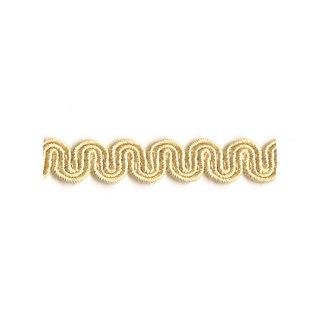 arco in manilla cream colour is a simple wavy curvy decorative trimming or interior braid