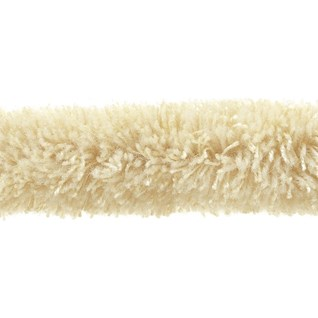 caterpillar braid decorative interior trim furry soft wool in porridge colour for curtains blinds