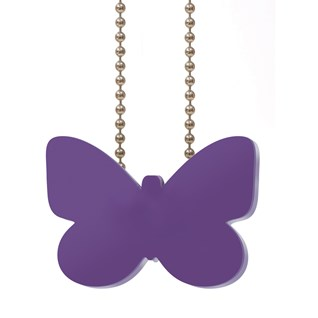child cord safety device in wooden butterfly decorative shape for blind, curtain, drape and windows