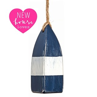 mini buoy pull - navy blue