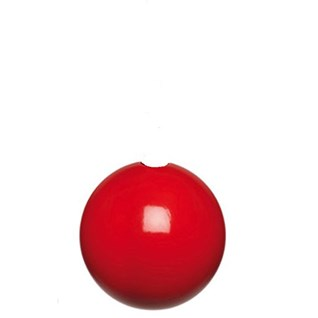 red high gloss bobbi wooden ball roman blind pull