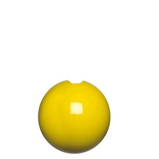yellow high gloss bobbi wooden ball roman blind pull