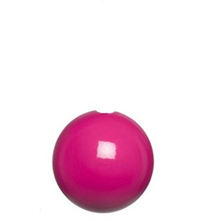 fuschia high gloss bobbi wooden ball roman blind pull