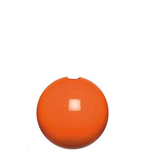 orange high gloss bobbi wooden ball roman blind pull