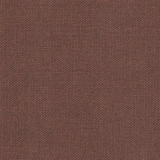 textured plain roller blind window fabric canvas in chocolate