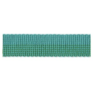 turquoise azure colour pop decorative interior trim braid in gradient modern design