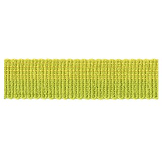 bright lime green colour pop decorative interior trim braid in gradient modern design