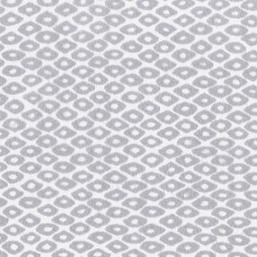 diamond burnout roller blind fabric in grey