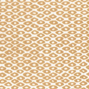 diamond burnout roller blind fabric in mustard gold
