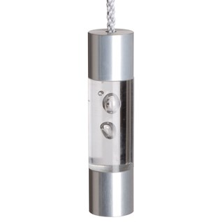 cheap bathroom light pull in clear bubble acrylic and aluminium fuse pull that is on special offer