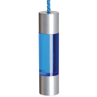 cheap bathroom light pull in electric blue acrylic and aluminium fuse pull that is on special offer