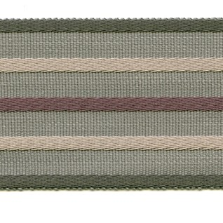wide woven braid or interior trimming in juniper, grey and natural colours