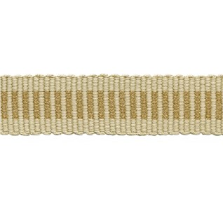 glitter striped trim - gold