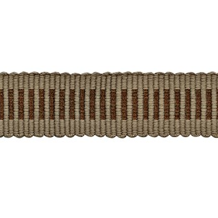 glitter striped trim - bronze