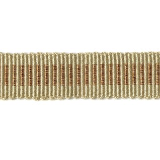 glitter trim in light copper shiney metallic braid a glittering decorative interior craft trimming