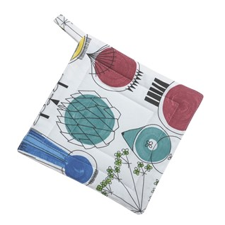 picknick design heatproof pot holder in a vintage swedish print by Marianne Westman